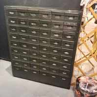 Bank of Army Drawers